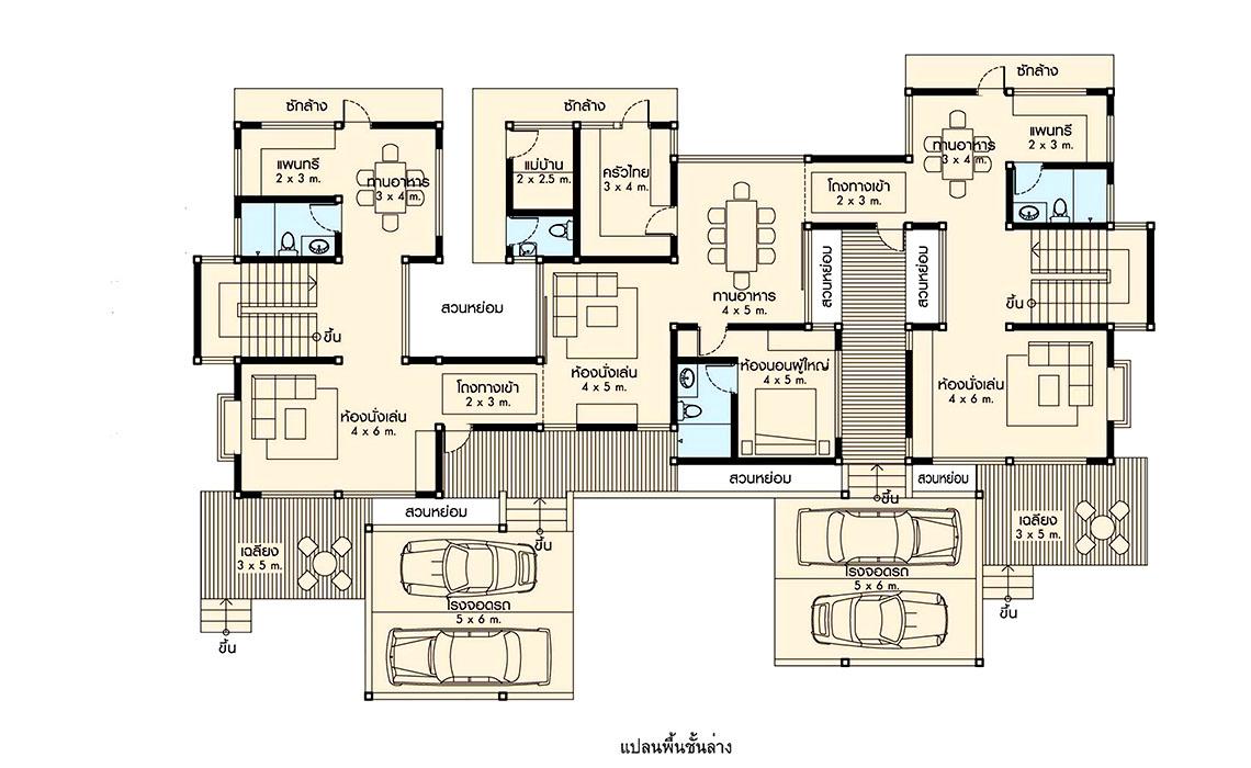 แบบบ้าน CM-T04-L