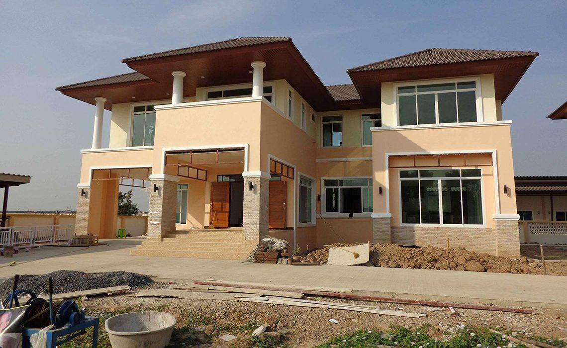 ผลงานการออกแบบและก่อสร้าง บ้านคุณรชตพงศ สุขสงวน