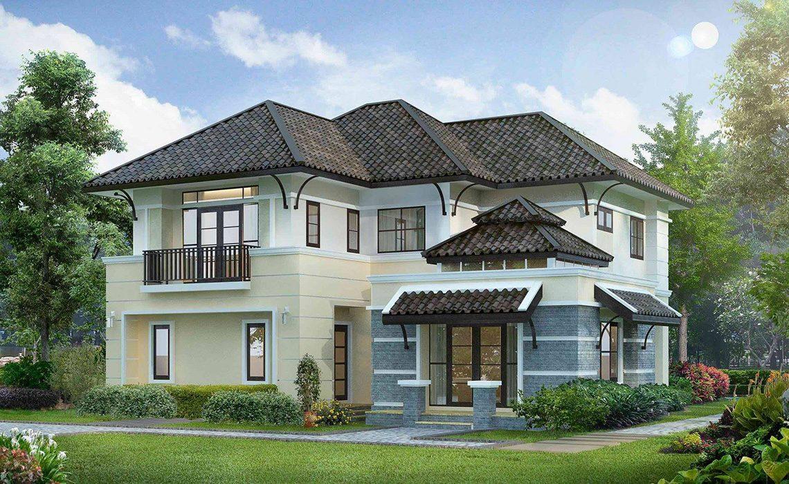 ผลงานการออกแบบและก่อสร้างบ้าน คุณพงษ์สิทธิ์