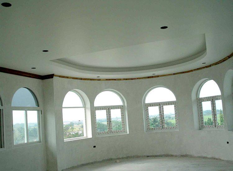 ผลงานการออกแบบและก่อสร้างบ้าน คุณศักดา