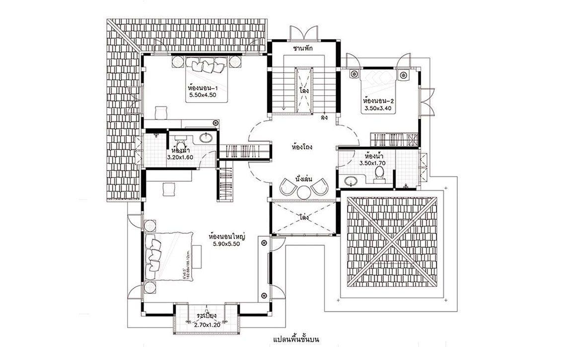 แบบบ้าน HP-08