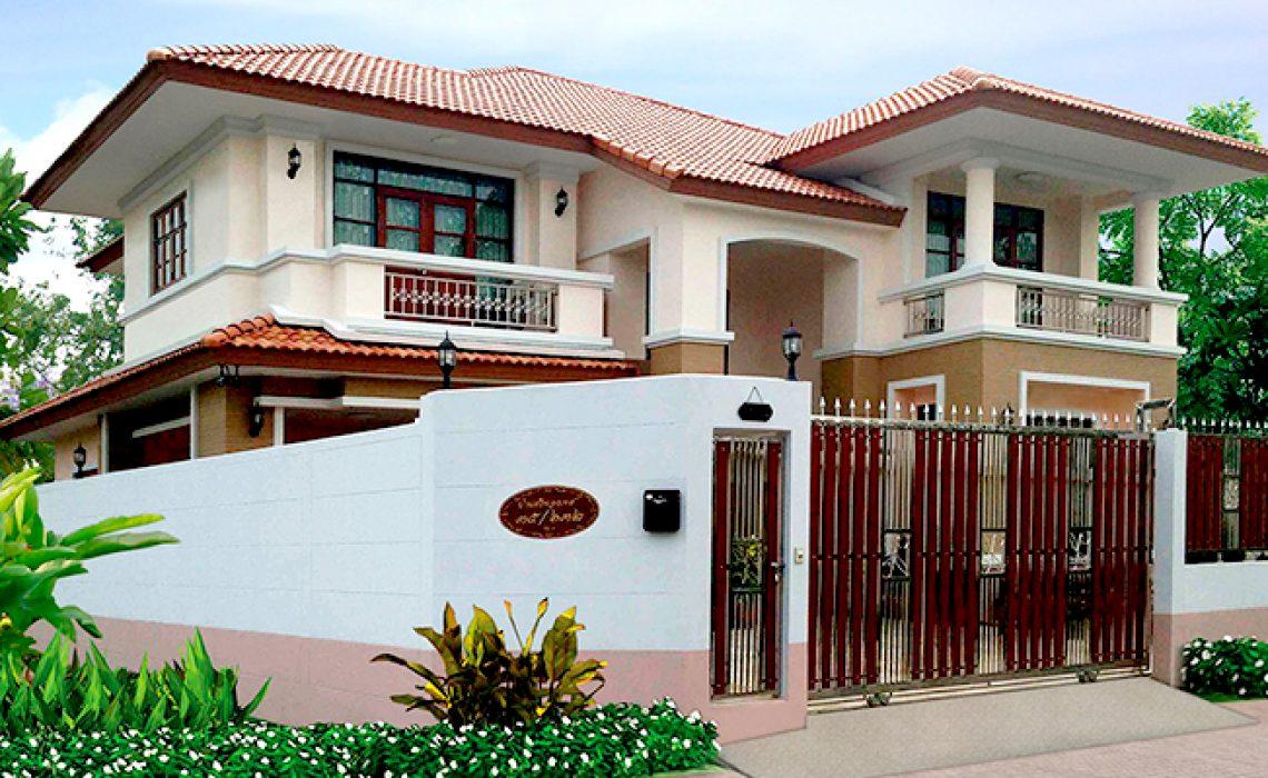 ผลงานสร้างบ้าน บ้านคุณวินิตย์ (คุณแดง)